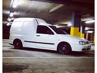Modified VW Caddy Van Sdtdi