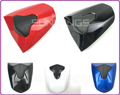 Motorcycle Pillion Rear Seat Cover Cowl ABS for Triumph Daytona 675 675R 13-18