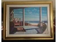 Huge framed art print by Lee Mothes