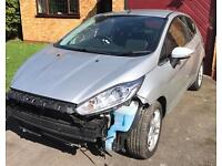 2015 65 Ford Fiesta Zetec 1.2 Damaged Repairable Salvage