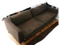 FREE Ikea Sofabed (brown) Must go this weekend!