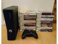 Xbox 360 and 30 games. Can post!