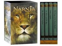 THE CHRONICLES OF NARNIA COLLECTION SET OF 4 BOOKS BY C.S. LEWIS