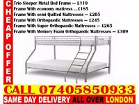 Brand New Bunk .. bed Single Double And Mattress ..CALL NOW Machias