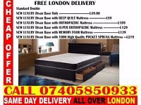 BRAND NEW Double King Size Single Bed With Mattress. Ray