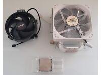 AMD Ryzen 3 2200G CPU / APU 3.5/3.7Ghz with onboard Vega GFX and Deepcool Gammaxx 400 Cooler