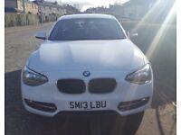 White BMW 1 series 114i Sport