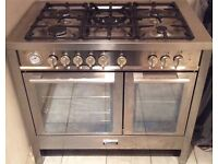 BrandNew/Graded Baumatic BCD1025SS Dual Fuel Double Oven Cooker with Warranty