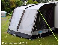 Kampa Rally 260 Awning - Colour Chocolate