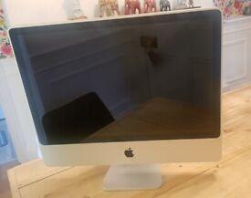 Apple iMac 24 core 2 duo 2.8 2008 Spares or Repair not MacBook
