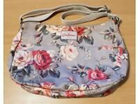 Cath Kidston Rose Dove Grey Shoulder Bag