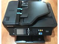 Almost New Hardly Used Epson Work Force WF-7610 Print Scan Copy A3 A4 Wifi Printer Sells over £120