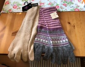Two Brand New Pairs of Jasper Conrad & Dents Gloves