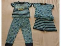 Boys Age 3-4 Summer Pyjamas