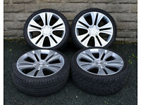 "22"" alloy wheels tyres 5x120 BMW X5 Range Rover Sport Discovery 3 4 alloys - wheels"