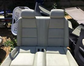 Bmw 1 series e88 convertible leather seats