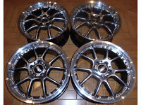 18'' Genuine BBS Alloys, 2 piece splits - Mint! Audi * VW * Seat * Mercedes