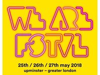 WE ARE FESTIVAL TICKET £70