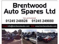 Brentwood Auto Spares ltd. Car parts and Cars 01245249080. CM13QL