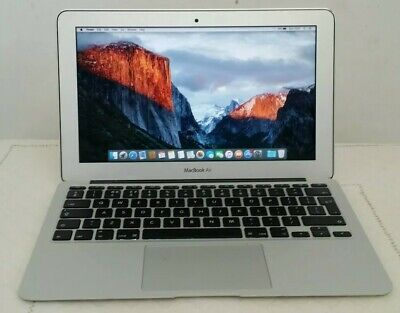 Apple macbook air 11 inch Early 2014 i5 4gb ram 128gb ssd El Capitan
