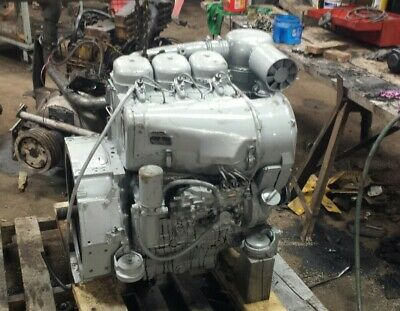 Deutz F3l 912 Diesel Engine Power Unit Runs Excellent