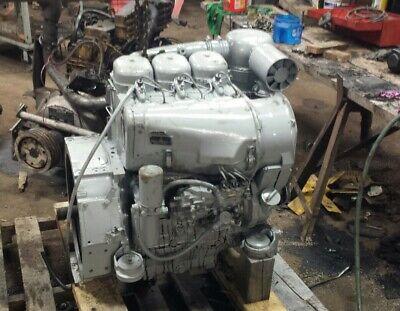 Deutz F3l 912 Diesel Engine Power Unit Runs Excellent