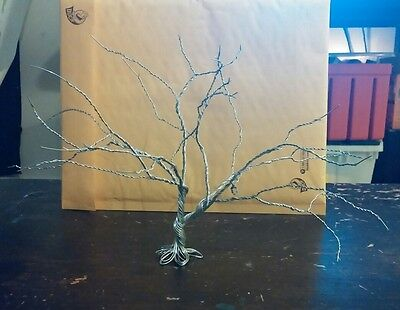 Wire Tree Of Life Sculpture - Wire Sculpture Silver or Gold
