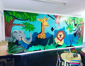 Mural artist for hire Brisbane City Brisbane North West Preview