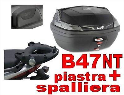 GIVI B47NT + E344 + E131 BAULETTO PIAGGIO BEVERLY TOURER 300  2008 2010 B47NT