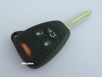 OEM CHRYSLER DODGE JEEP master key keyless entry remote fob transmitter+NEW CASE