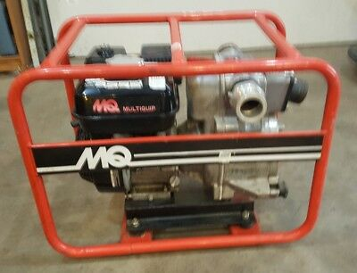 Multiquip Qp-2th 2 Water Pump Honda Gx160 Motor Runs Great