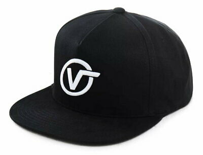 VANS Distorted Cap In Black