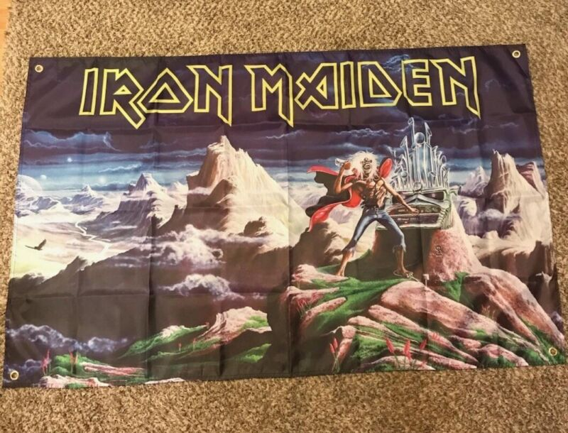 iron maiden Flag 3'x5' Huge