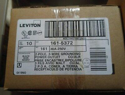 Leviton 5372 Oven Welder Receptacle 6-30 30 Amp 250 Volt Box Of 10