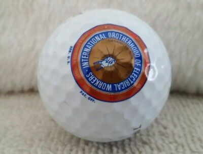 International Brotherhood of Electrical Workers 3 Golf Balls Top Flite Union