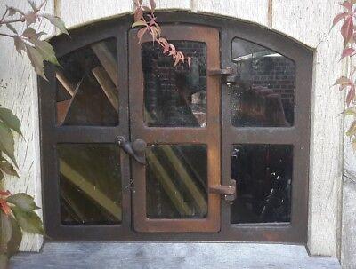 """Stallfenster , Fenster , Eisenfenster,Gussfenster mit Tür  ! Remise """"Theo"""""""