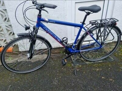 "monteria massive hybrid 2.0 bike 19"" frame used once"