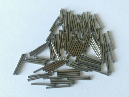 Clock Pins Steel 10 16mm  X100 Pack