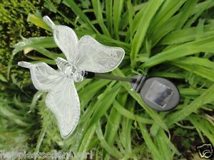 Solar-Power-Powered-Butterfly-Decorative-Lighted-Stake-Garden-Animal-Bird