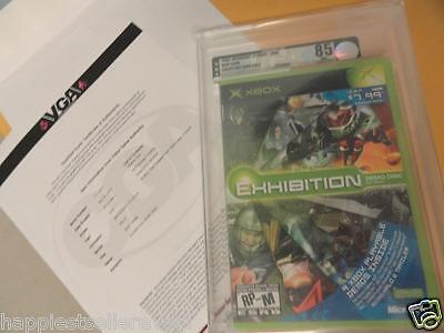 Graded Xbox Exhibition Demo Disc Volume 1 Halo Video Game System Green