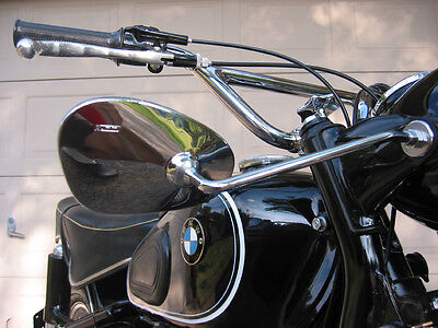 Headlight Mirrors for BMW /2 R50 R60 R27 R69S R75/5 R60/5 + other motorcycles