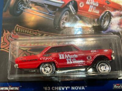 Hot Wheels Car Culture Drag Strip Demons 63 CHEVY NOVA