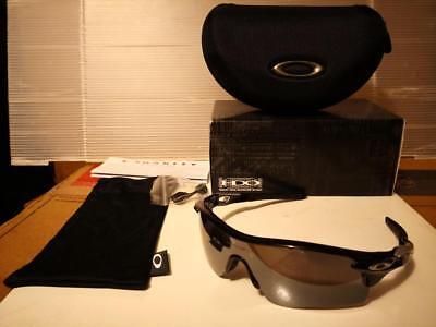 Neu Oakley - Radarlock Path - Sonnenbrille, Poliert Schwarz / Iridium Gläser