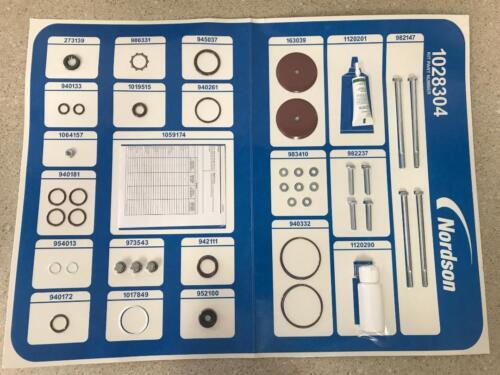 Nordson 1028304 Pump Rebuild Service Kit NEW