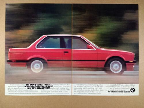 1989 BMW E30 325is vintage print Ad