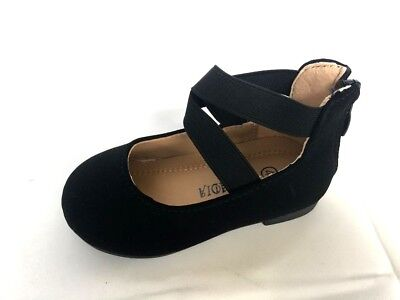 New toddler basic round toe  ballet flats slip on loafer shoes   Size 3 to 9 - Ballet Flats Toddlers