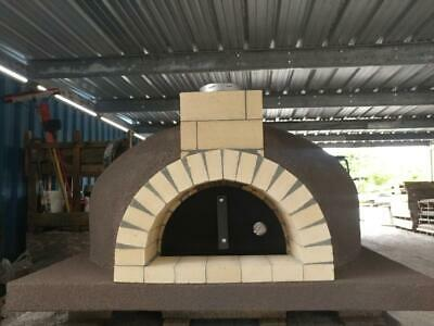 Wood Fired Pizza Oven - 43 Fire Brick Oven - Insulated