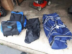 Large and Sturdy Luggage/Hockey Bags