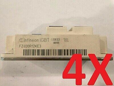 4x Infineon Eupec Fz400r12ke3 Transistor Igbt Power Module 1200v 400a