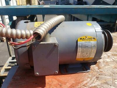 Baldor Motor 3hp M3559 Woodworking Machinery
